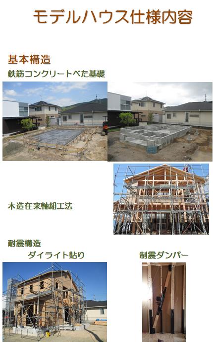 モデルハウス仕様1